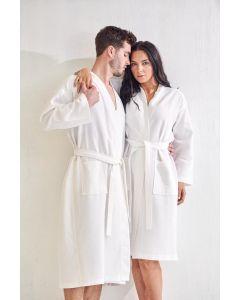 Men's Bath SPA Robe - White
